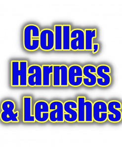 Dog Collars, Harnesses & Leashes