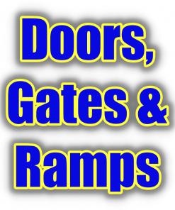 Doors, Gates & Ramps