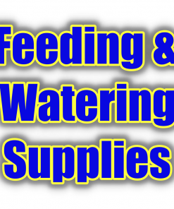 Feeding & Water Supplies